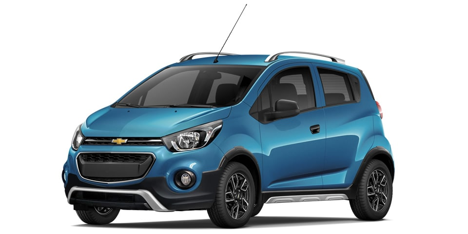 Chevrolet Beat Hatchback 2020 en color azul caribe